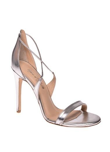 House Of Camellia Ayakkabı Gümüş